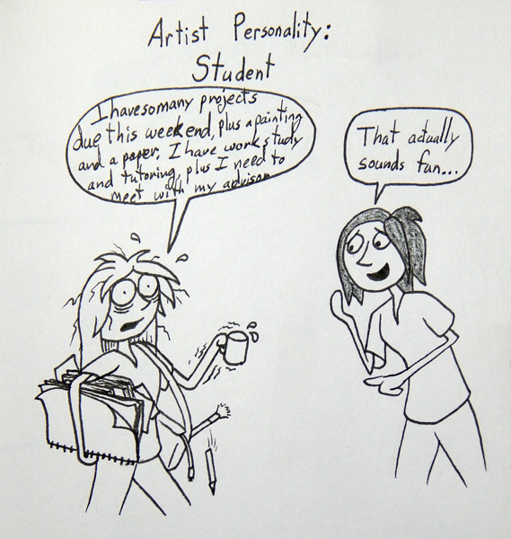 Artist Personality: Student