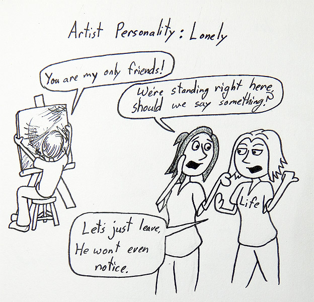 Artist Personality: Lonely